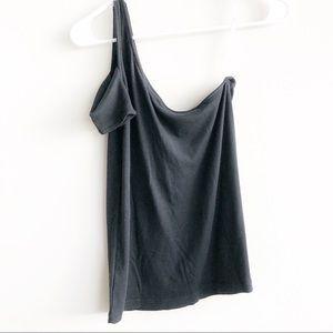 Splendid Tops - (NWT) Splendid 1X1 One Shoulder Top